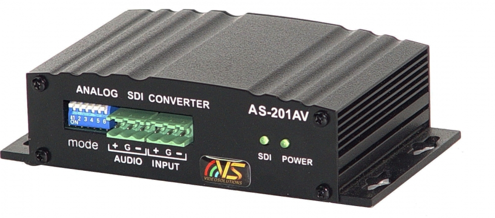 Analogue to SDI Converter