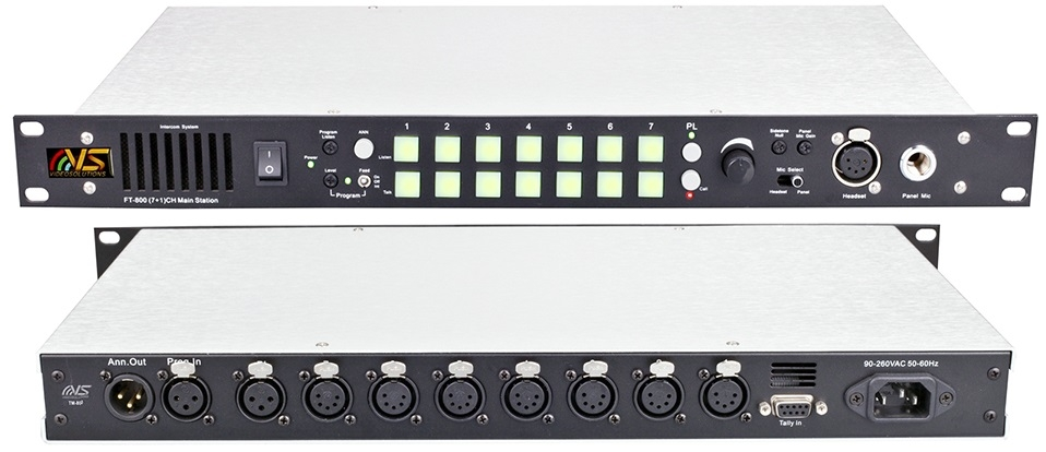 7+1 Channel Intercom FT-800, Main Station
