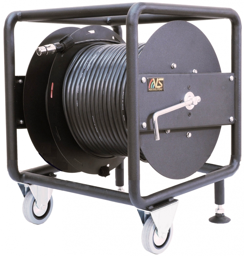 Single frame steel Cable Reel