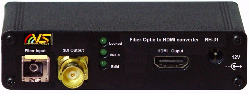 Discontinued -Fiber Optic to HDMI Converter